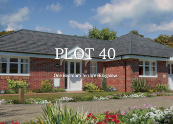 Thumbnail 1 bed semi-detached bungalow for sale in Plot 40, Ramley Road, Pennington, Lymington, Hampshire