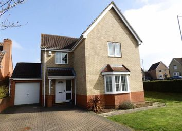 Thumbnail 4 bedroom detached house for sale in Speckled Wood Close, Pinewood, Ipswich