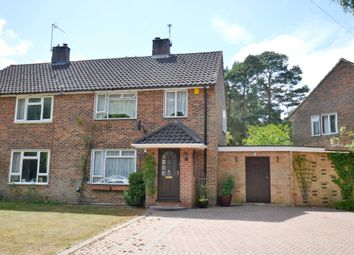 Thumbnail 3 bed semi-detached house for sale in Wigmore Road, Baughurst, Tadley