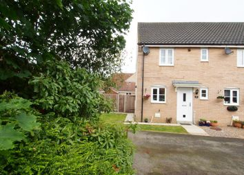 Thumbnail 2 bed semi-detached house for sale in Burdock Close, Wymondham