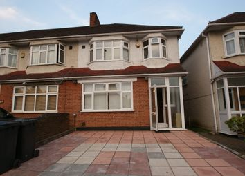Thumbnail 3 bed semi-detached house to rent in Greenford Road, London