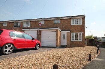 Thumbnail 2 bed semi-detached house to rent in Baydon Close, Trowbridge, Wiltshire