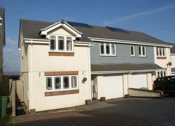 Thumbnail 3 bed semi-detached house to rent in Keston Gardens, Wadebridge