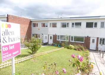 Thumbnail 3 bed terraced house to rent in Uplands Crescent, Llandough, Penarth