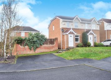 Thumbnail 2 bedroom semi-detached house for sale in Oakham Drive, Selston
