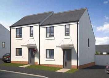 Thumbnail 2 bed semi-detached house to rent in Summering Close, Meldon Fields, Okehampton, Devon