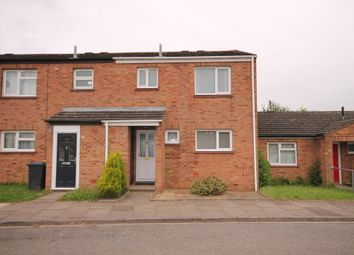 Thumbnail 3 bed terraced house for sale in Carrick Road, Goldington, Bedford