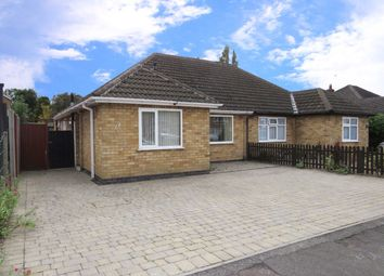 Thumbnail 3 bed semi-detached bungalow for sale in Mapleton Road, Wigston, Leicester
