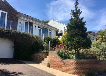 Thumbnail 4 bed detached house for sale in Lustrells Close, Brighton Saltdean