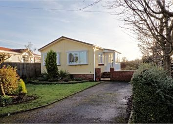 Thumbnail 2 bed mobile/park home for sale in Chequers Park, Ipswich