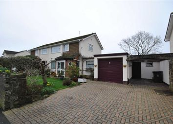 Thumbnail 3 bedroom semi-detached house to rent in Abbey Road, Barnstaple, Devon