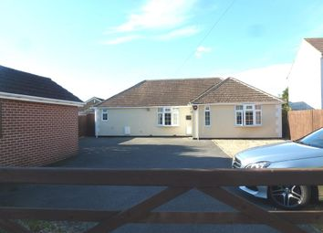 Thumbnail 3 bedroom detached bungalow for sale in Shamblehurst Lane South, Hedge End, Southampton