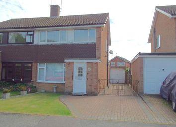 Thumbnail 3 bed semi-detached house for sale in Ashburton Close, Willesborough, Ashford, Kent