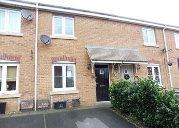 Thumbnail 2 bed terraced house for sale in Longacres, Brackla, Bridgend