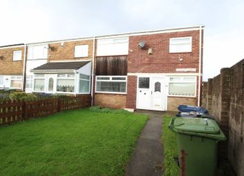 Thumbnail 3 bed terraced house to rent in Hopkins Walk, South Shields