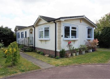 Thumbnail 2 bed mobile/park home for sale in Firs Mobile Home Park, Petersfield