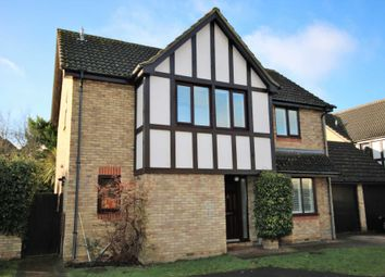 Thumbnail 4 bed detached house to rent in Saddleback Way, Fleet