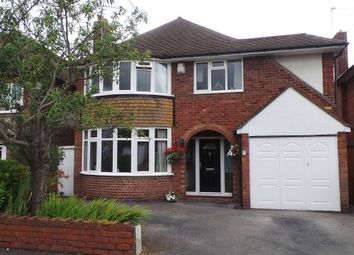 Thumbnail 4 bed detached house for sale in Marchmount Road, Wylde Green, Sutton Coldfield