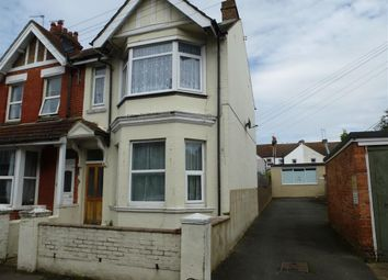 Thumbnail 3 bed end terrace house for sale in Reginald Road, Bexhill-On-Sea