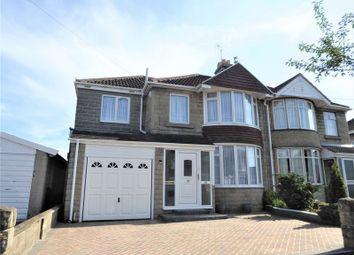 Thumbnail 4 bedroom semi-detached house for sale in Collett Avenue, Swindon