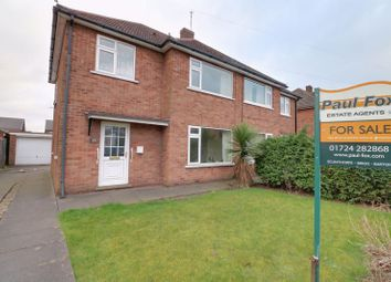 Thumbnail 3 bed semi-detached house for sale in Westfield Road, Scunthorpe
