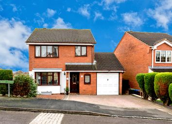 Thumbnail 3 bed detached house for sale in Buckthorn Close, Hednesford, Cannock