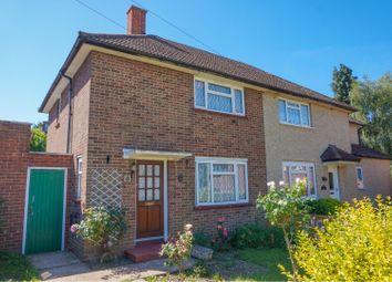 Thumbnail 2 bed semi-detached house for sale in Netley Close, New Addington, Croydon