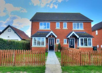 Thumbnail 3 bed semi-detached house for sale in Besthorpe Road, Attleborough