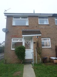 Thumbnail 1 bed terraced house to rent in Hazeldene Avenue, Brackla, Bridgend