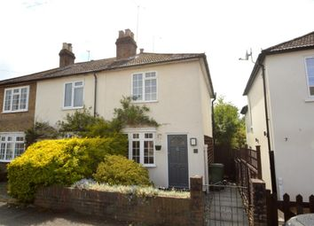 Thumbnail 2 bed end terrace house for sale in Anderson Road, Weybridge, Surrey