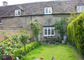 Thumbnail 2 bed terraced house to rent in Silver Street, South Cerney, Cirencester