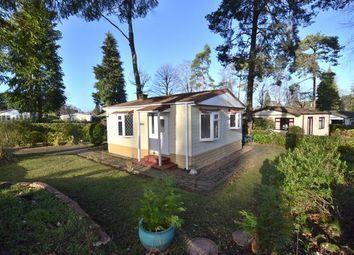 Thumbnail 1 bed mobile/park home for sale in Woodland Rise, Grange Estate, Church Crookham, Fleet