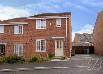 3 bed semi-detached house for sale in Palace Gardens, Clipstone Village, Mansfield NG21