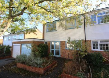 Thumbnail 3 bed semi-detached house for sale in Irwell Close, Basingstoke