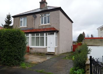 Thumbnail 2 bed semi-detached house to rent in Hawes Road, Bradford