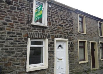Thumbnail 1 bed terraced house to rent in Elm Street, Troedyrhiw, Merthyr Tydfil