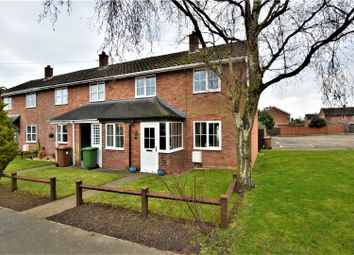 Thumbnail 2 bed end terrace house for sale in Baldwin Close, Wittering, Peterborough