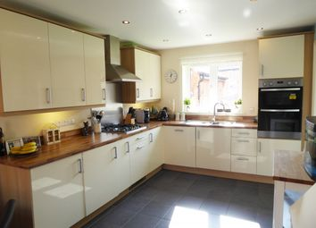 Thumbnail 4 bed link-detached house for sale in Hart Drive, Swadlincote, Leicestershire