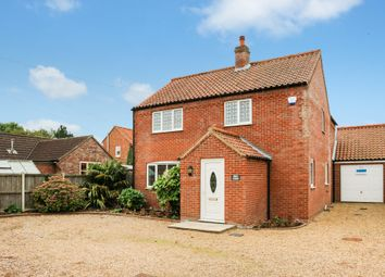Thumbnail 4 bedroom detached house for sale in Beccles Road, Thurlton, Norwich