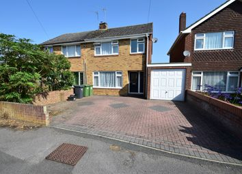 Thumbnail 3 bed semi-detached house for sale in Osterley Close, Botley, Southampton