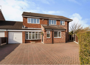 Thumbnail 5 bed detached house for sale in The Green, Auckley, Doncaster