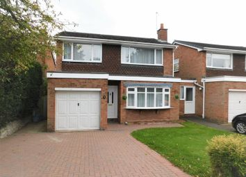 Thumbnail 3 bed detached house for sale in Manor Close, Weston, Stafford