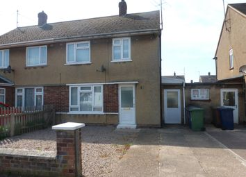 Thumbnail 2 bedroom semi-detached house to rent in Bramley Road, Wisbech