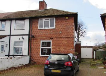 Thumbnail 2 bed end terrace house for sale in Waltham Road, Carshalton
