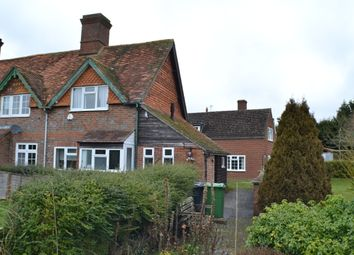 Thumbnail 2 bed end terrace house to rent in Worlds End, Beedon, Newbury