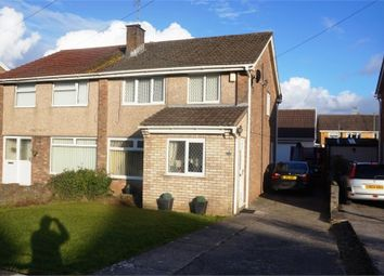 Thumbnail 3 bedroom semi-detached house for sale in Maes-Y-Haf, Broadlands, North Cornelly, Bridgend