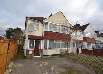 Thumbnail 3 bed semi-detached house to rent in Byward Avenue, Feltham