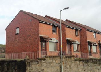 Thumbnail 2 bed end terrace house for sale in Dalreoch Court, Dumbarton