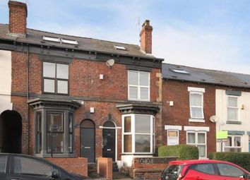Thumbnail 3 bed terraced house for sale in Edmund Road, Sheffield, South Yorkshire