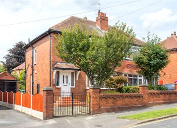 Thumbnail 3 bed semi-detached house for sale in Manston Crescent, Leeds, West Yorkshire